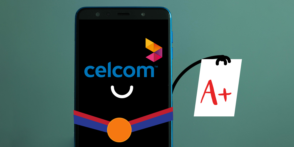 Celcom Just Scored An A+ In This Industry Report, Here's How