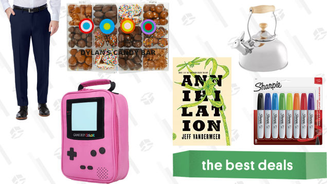 Sunday's Best Deals: Loads of Candy, Kindle eBooks, Game Boy Lunchboxes, and More
