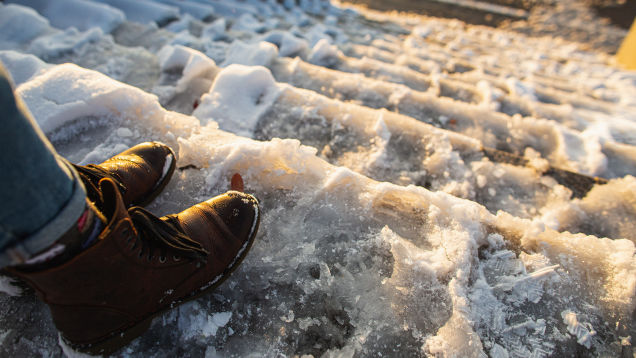 How to Improve Your Balance So You Don't Fall This Winter