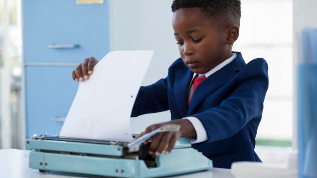 You Should Buy Your Kid a Typewriter