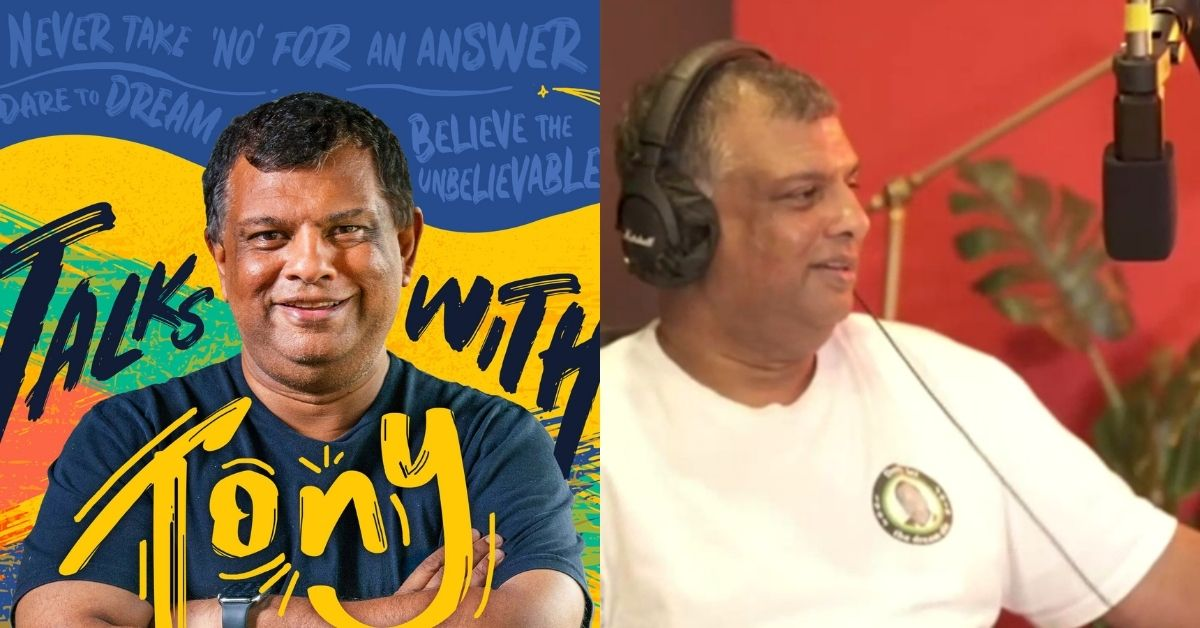 Tony Fernandes is dropping a new podcast on Aug 1, but no, it's not about AirAsia